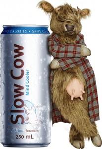 Hairy, la mascotte de Slow Cow debout !