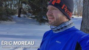 Éric Moreau, association courir pour une cause