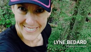 Lyne Bedard, coureuse