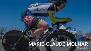 Marie-Claude Molnar, paracycliste