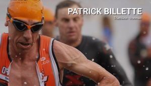 Patrick Billette, triathlon et ironman