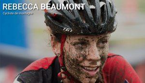 Rebecca Beaumont, cycliste de montagne